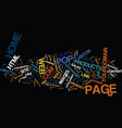 ten tips for your web site home page text vector image vector image