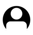 user icon male person profile avatar symbol in vector image vector image