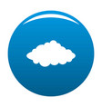 weather forecast icon blue vector image vector image