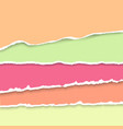 background with collection of pastel colors vector image