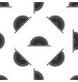 circular saw blade seamless pattern saw wheel vector image vector image