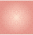 Decorative pink ornament vector image vector image