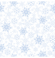 Festive decorative seamless pattern with snowflake vector image vector image