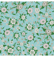 Floral Background Flowers Seamless Pattern vector image vector image