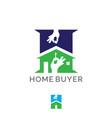home buyer symbol concept vector image