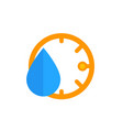 humidity icon vector image vector image