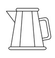 kitche kettle isolated vector image vector image