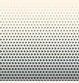 monochrome halftone gradient vector image vector image