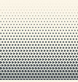 monochrome halftone gradient with vector image vector image