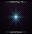 set of light effects vector image vector image