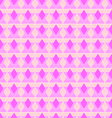 Abstract pink rhombus seamless pattern vector image vector image