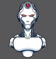 artificial intelligence evil vector image