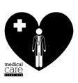 Blood donation design vector image