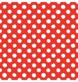 Abstract hand drawn polka dots seamless vector image vector image