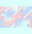 cute pink blue abstract background for web design vector image