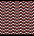horizontal red zigzag stripes pattern geometric vector image