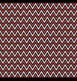 horizontal red zigzag stripes pattern geometric vector image