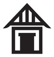 House icon2 resize vector image