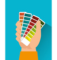 Pantone colors graphic vector image vector image