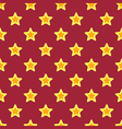 Retro Christmas Texture with Stars vector image