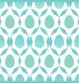 seamless pattern of geometric lines and blue lined vector image
