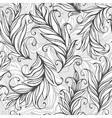 Seamless pattern with amazing feathers vector image vector image