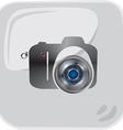Web cam design background vector image