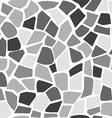 Abstract mosaic pattern seamless stone pattern vector image vector image