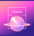gradient background shining abstract vector image vector image
