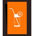 Cocktail menu vector image