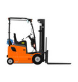 counterbalance forklift vector image