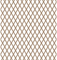 diagonal gold square checkered background vector image vector image