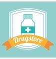drugstore bottle vector image