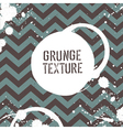 grunge zigzag pattern seamless vector image vector image