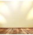 Light wooden interior EPS 10 vector image vector image
