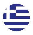 Greec flag vector image