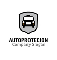 Auto Protection Design vector image vector image