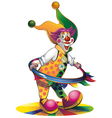 clown vector image