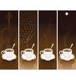 coffee violin vector image vector image