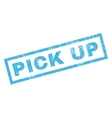 Pick Up Rubber Stamp vector image