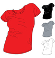 Shirt pack 2 vector image vector image
