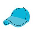 sport baseball cap fashion accessory protection vector image