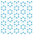 Star of David Seamless Pattern vector image vector image