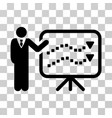 trends lecture icon vector image