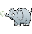 Cartoon Elephant vector image vector image