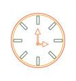 clock icon image vector image vector image