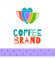 coffee logo set vector image vector image