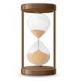 hourglass 01 vector image vector image