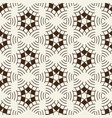 light vintage monochrome seamless pattern vector image vector image
