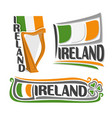 logo for ireland vector image